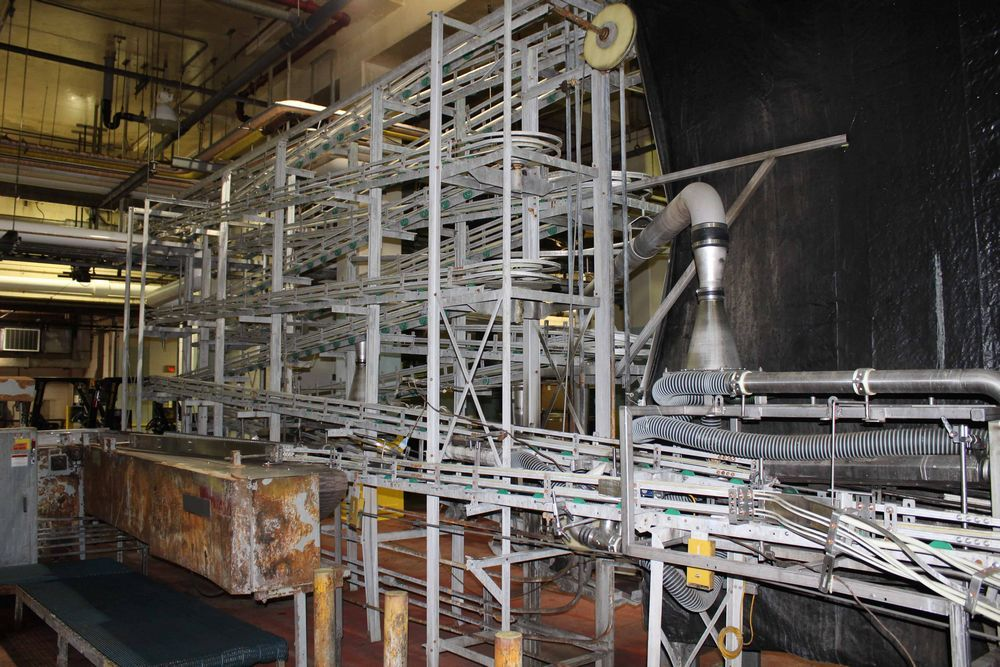 Lot 18808RB - Alpine Cable Way Can Conveyor
