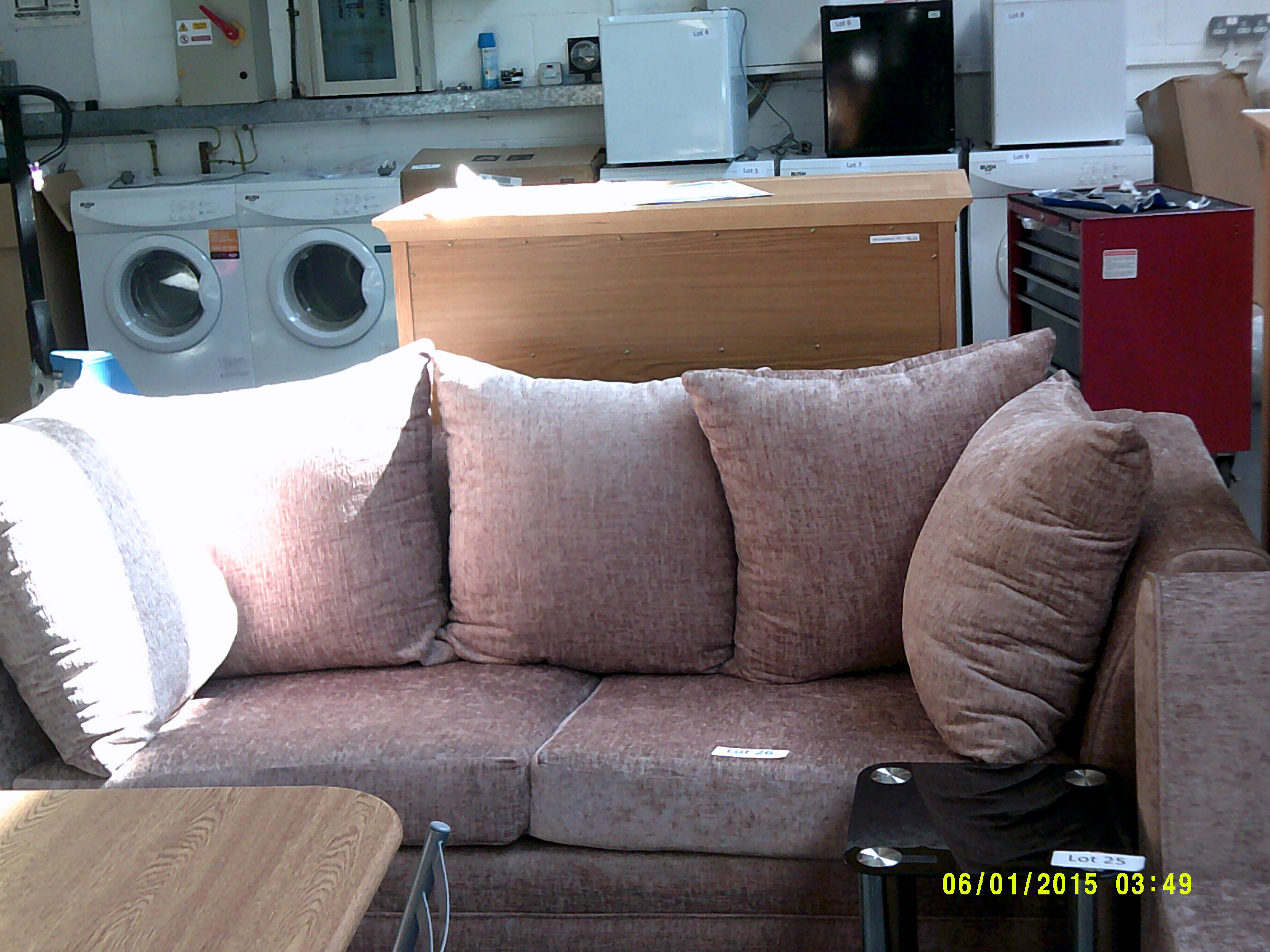 Lot 26 - 3 Seater Sofa ORP £999 Customer Returns
