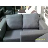 2 Seater Grey Sofa ORP £799 Customer Returns