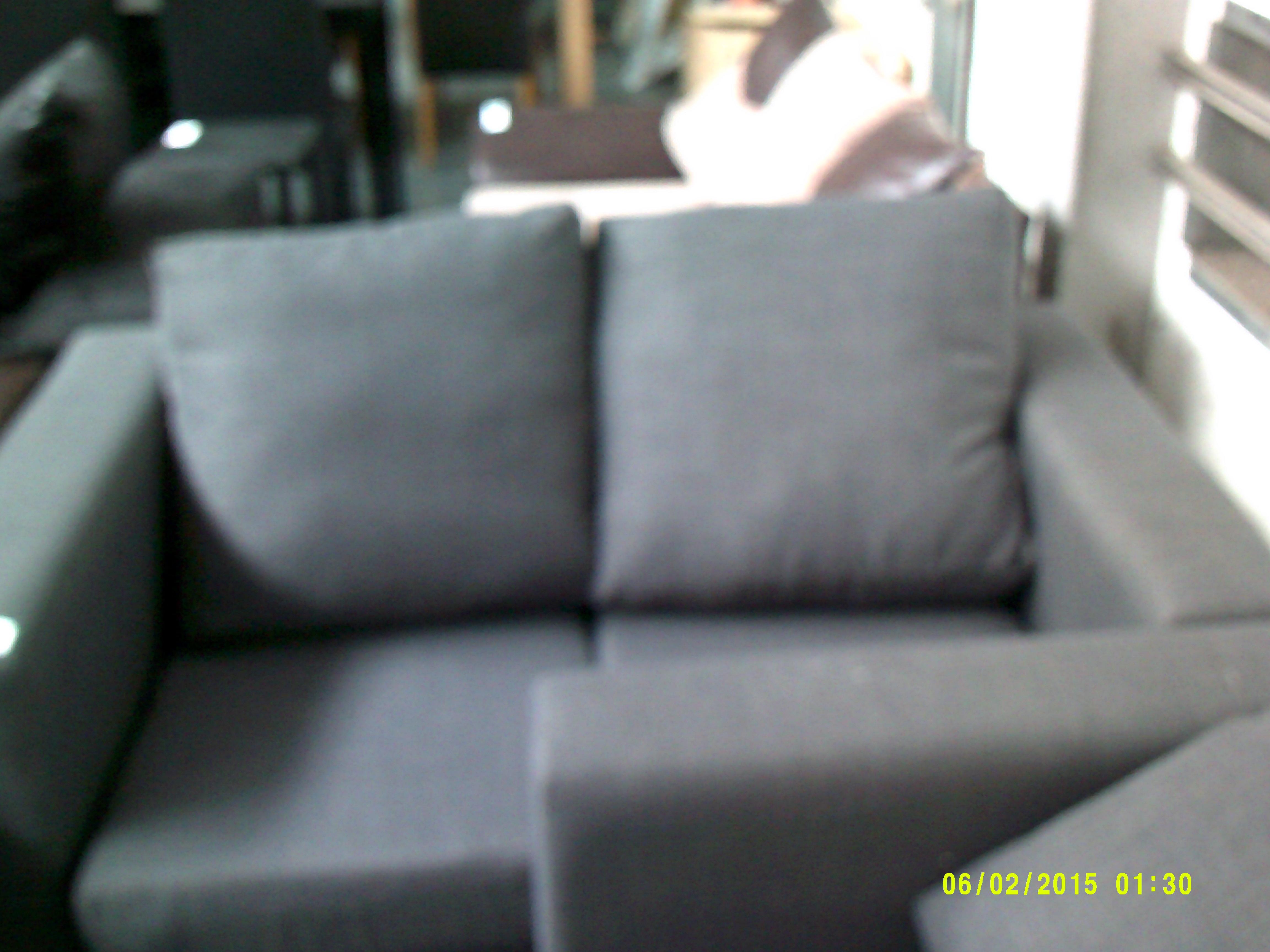 Lot 38 - 2 Seater Grey Sofa ORP £799 Customer Returns