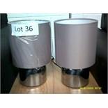 Pair of Table Lamps Customer Returns
