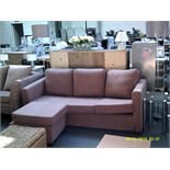 3 Seater Sofa with Foot Stool ORP £1429 Customer Returns