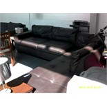 Leather Corner Sofa Some Feet Missing ORP £1399 Customer Returns