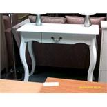 White hall table ORP £89 Customer Returns