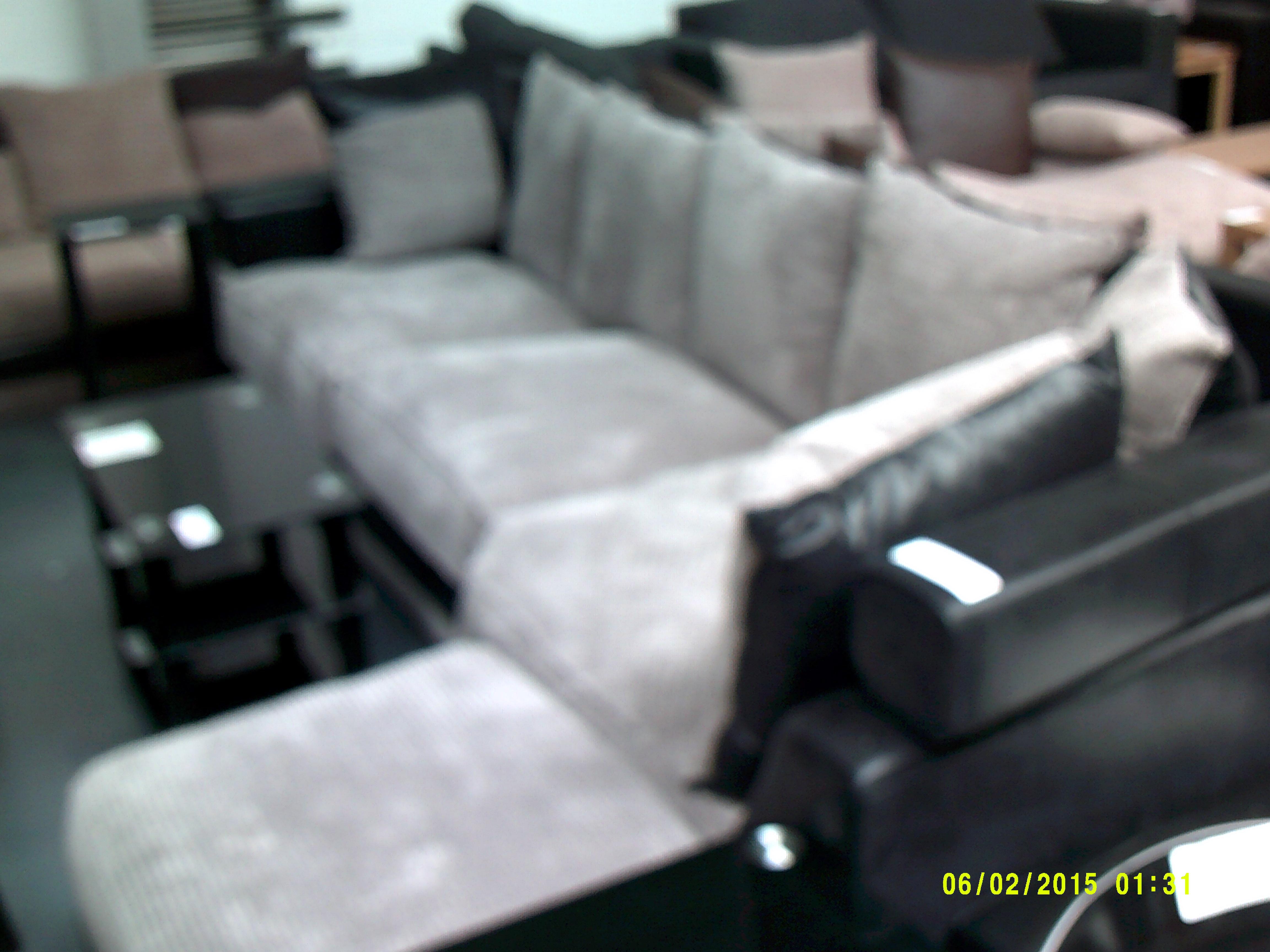 Lot 50 - Large Corner Sofa ORP £1799 Customer Returns