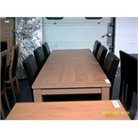 Extendable Dining Table & 6 Chairs ORP £699 Customer Returns
