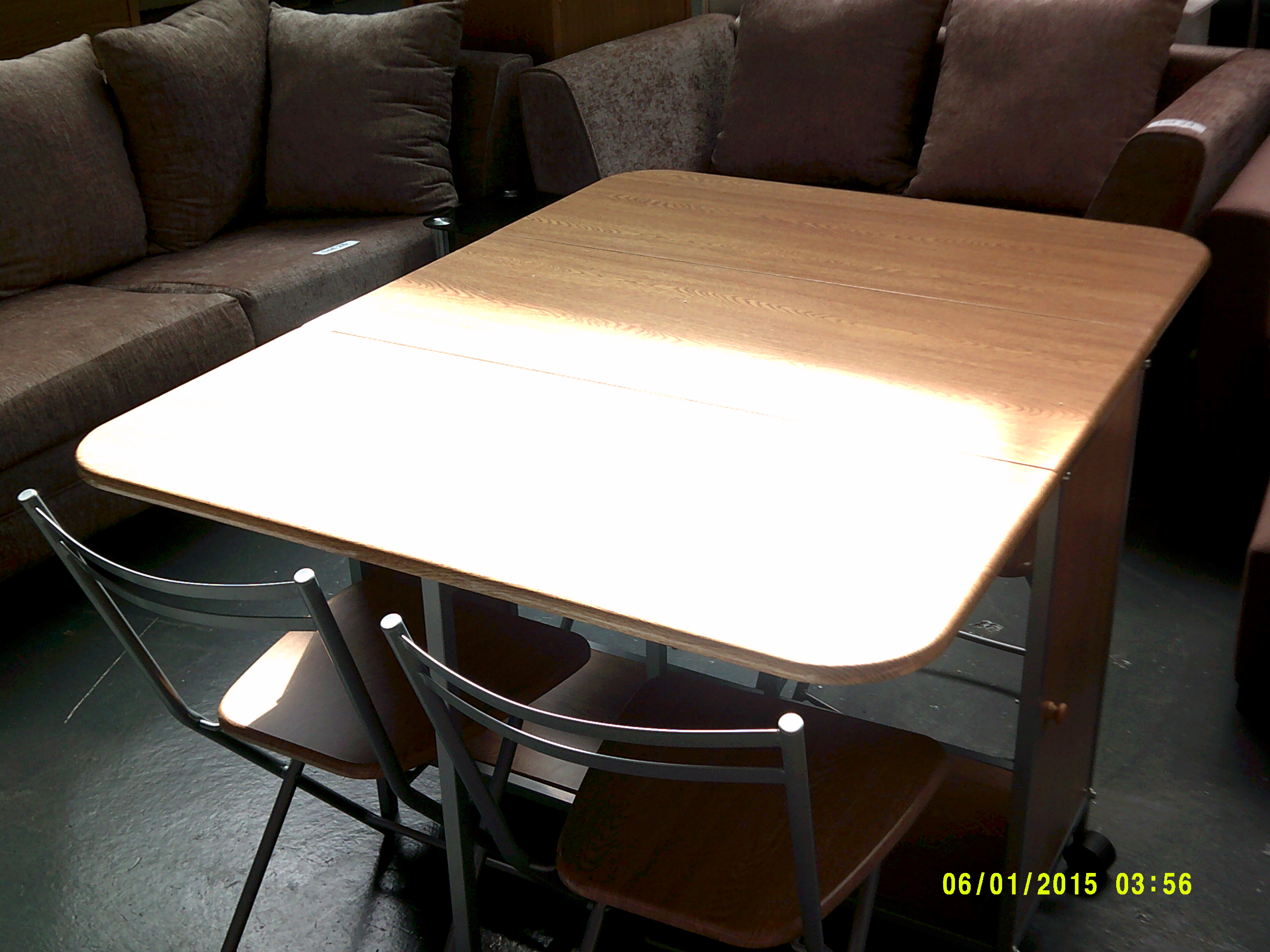 Lot 31 - Fold Away Table with 4 Chairs ORP £179 Customer Returns