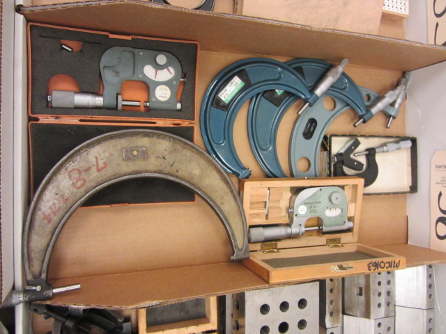 Lot 36 - Misc Micrometers
