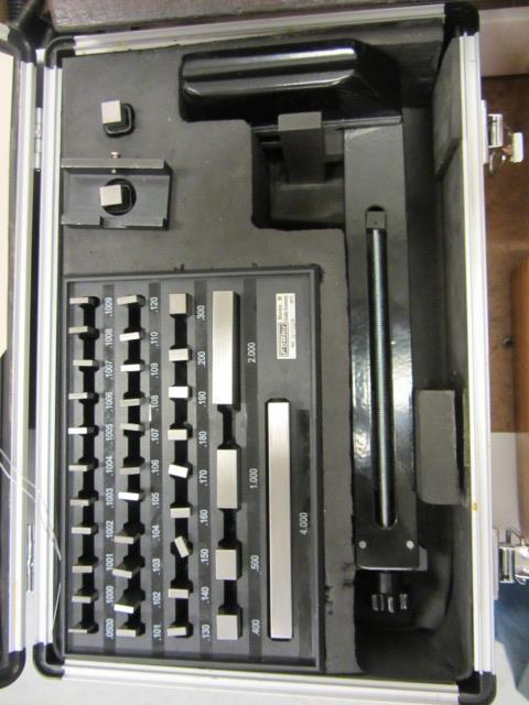 Lot 39 - Fowler Master Block Gauge Set
