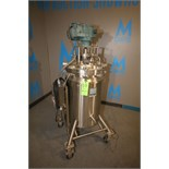 Cherry Burrell 50 Gallon Dome-Top Sloped-Bottom Vacuum Processing Tank, S/N 84E-13, Top-Mount Side