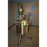 Cherry Burrell 50 Gallon Dome-Top Sloped-Bottom Vacuum Processing Tank, S/N 85E-28, Top-Mount