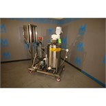Skid-Mounted Portable All S/S Chocolate Tempering System, Approx. 30 Gallon Side Sweep-Scrape