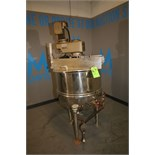 Groen Approx 60 Gallon S/S Jacketed Ketlle, Model RA-60, S/N 03678-1, 100 PSI @ 338 Degree F, 100
