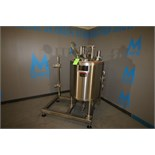 Lee Approx. 90 Gallon Dome-Top Sloped Bottom Jacketed Filtering and Processing Tank, Model 50U7S,