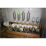 2008 NEW Lewa Diaphram Metering Pump, Model LDD4/LD2-HYG, 4 STAGES @ 429.92 L/HR-1 STAGE @ 112.74