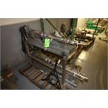 (2) Moyno S/S Progressive Cavity Pumps, Model 2FH3SSZ & 2F34SSZ, S/N AS8750991-2 & AS87539, SEW 1