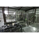 FOGG Rotary 6-Head Filler with 3-Head Screw Capper, Model EASI-63, Complete with Cap Feeder /