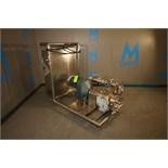 WCB 10 HP Positive Displacement Pump, Model 060, S/N 10343-97, (2) WCB Air Valve Recirulation