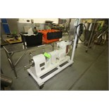 Votator 3 HP Scrape Surface Heat Exchanger, Model 1C312L, S/N 77-052V, Reliance 1730 RPM Motor,