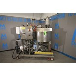 Chester-Jenson Aprox. 70 Gal. Processor Kettle, Model X70N2.5, S/N 9620-P, Built 1996, Rated 100 PSI