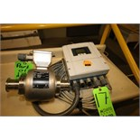 """Endress + Hauser Flow Meter with Digital Read Out, S/N C6025216000 and C6025216000, 2"""" 316L S/S"""