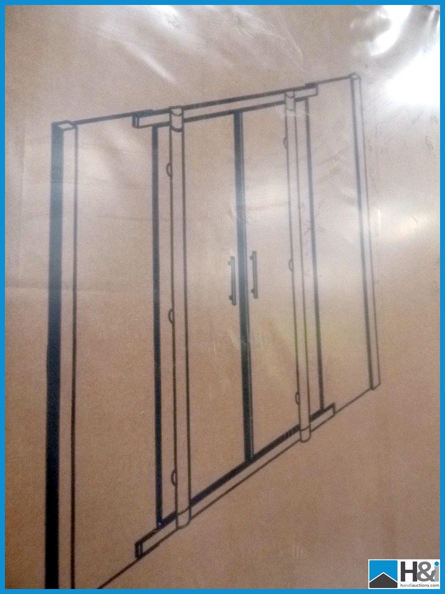 1200mm x 2000mm high sliding shower door in polished for 1800mm high shower door