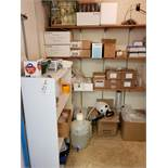 Contents of Laboratory Supply Closet, (Not to include any previously lotted items)   Rig Fee: $200