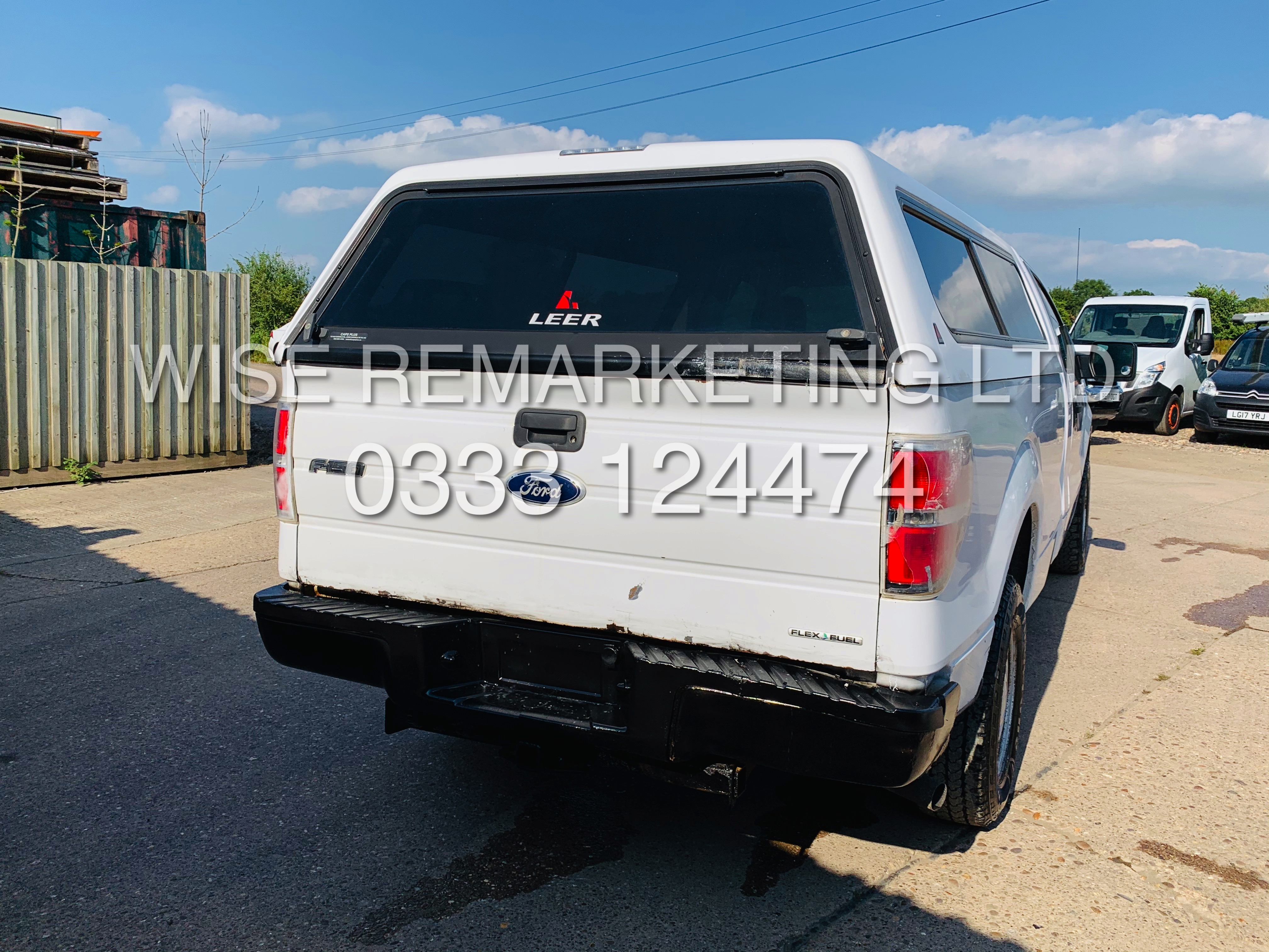Lot 8A - (RESERVE MET) FORD F-150 XL 4.6L EDTION 2010-YEAR**REGULAR-CAB**FRESH IMPORT**IN WHITE