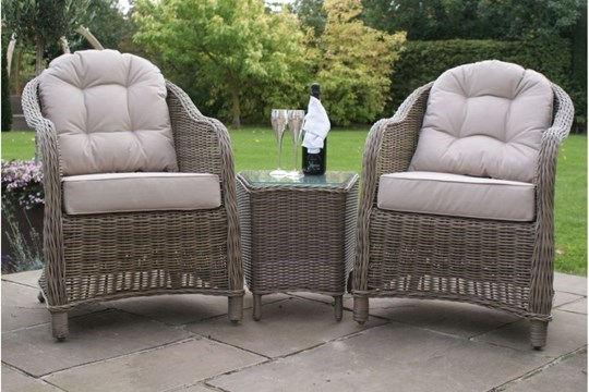 Lot 43 - Rattan Winchester 3 Piece Outdoor/Conservatory Lounge Set *BRAND NEW*