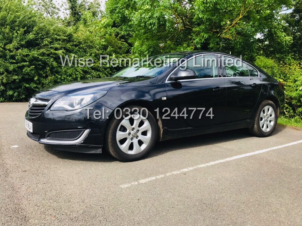 Lot 6 - (RESERVE MET) VAUXHALL INSIGNIA 1.6 CDTI ECOFLEX TECH LINE 2016 *1 OWNER FROM NEW* FSH - LOW MILES