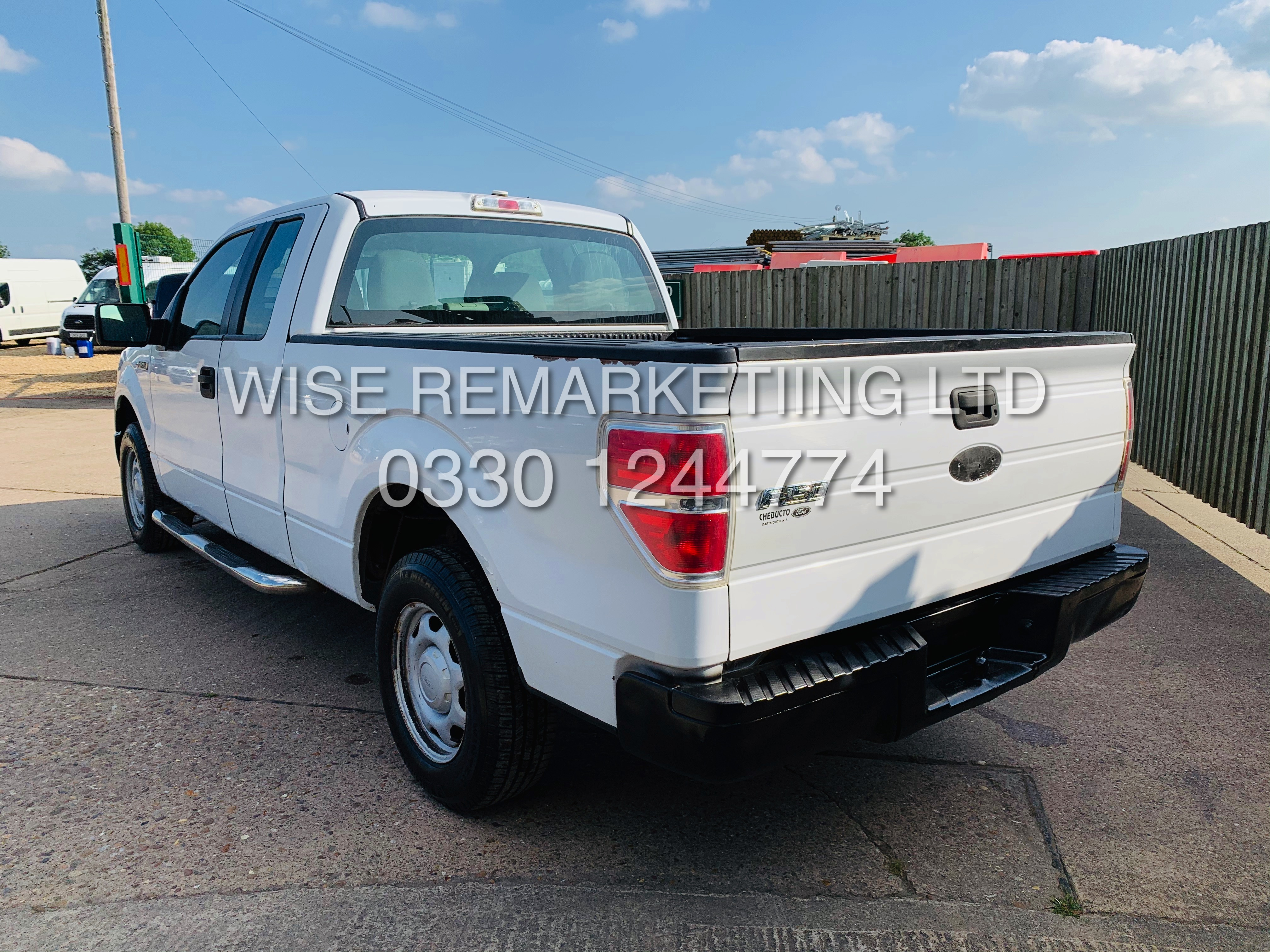 Lot 2A - (RESERVE MET) FORD F-150 XL 4.6L EX EDTION 2010-YEAR**FRESH IMPORT**IN WHITE