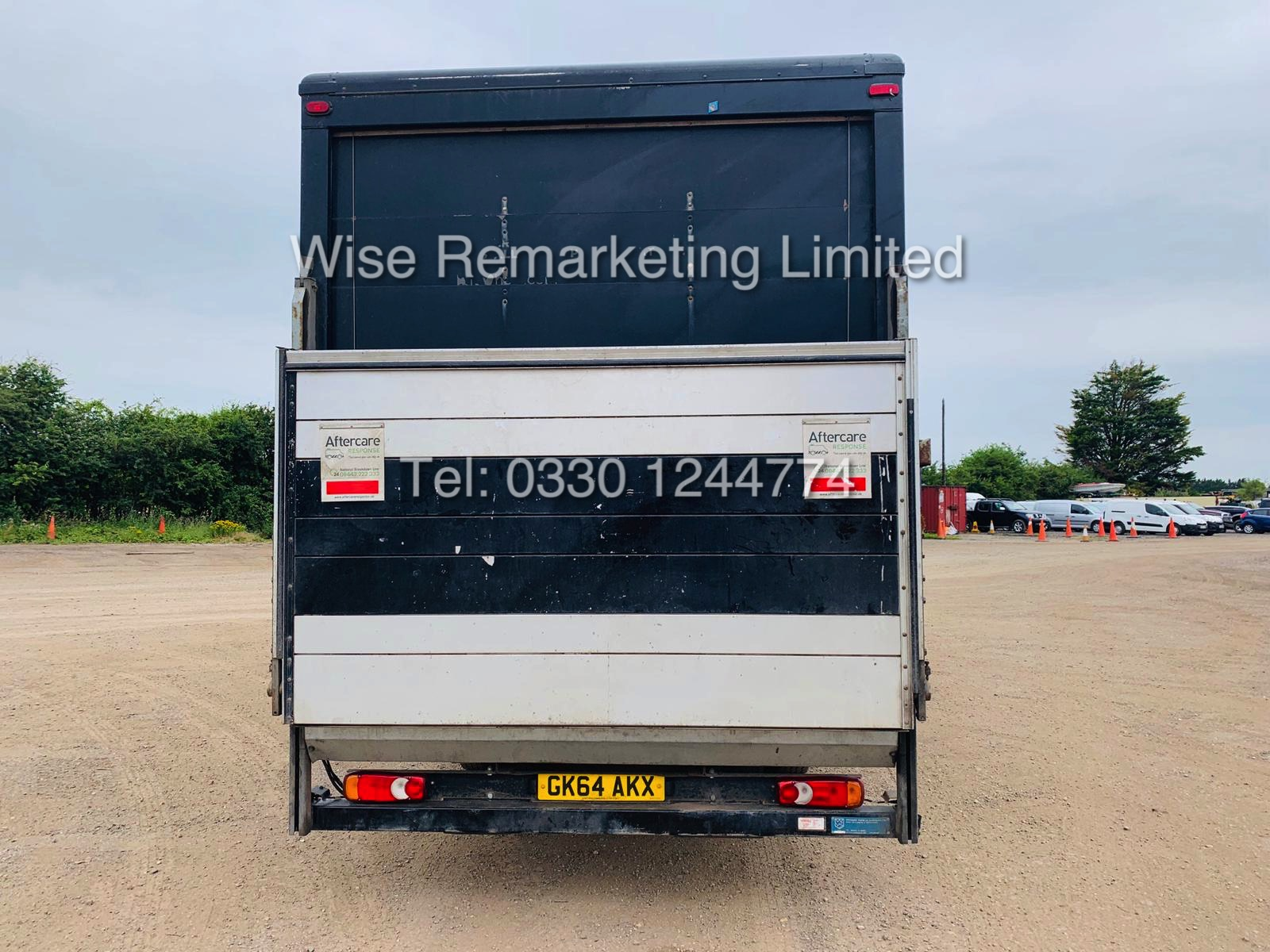 "Lot 14 - IVECO EURO CARGO 75E16 EURO 6 ""ULEZ COMPLIANT - 20 FOOT BOX VAN WITH TAIL LIFT"