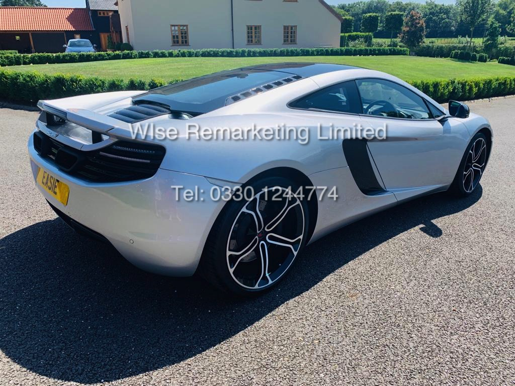 Lot 1 - MCLAREN MP4 - 12C 3.8 S - AUTO *592 BHP* (2012) **BIG SPEC** FULL MCLAREN HISTORY