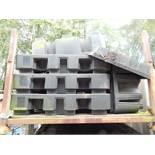 3 x Black Spill Trays