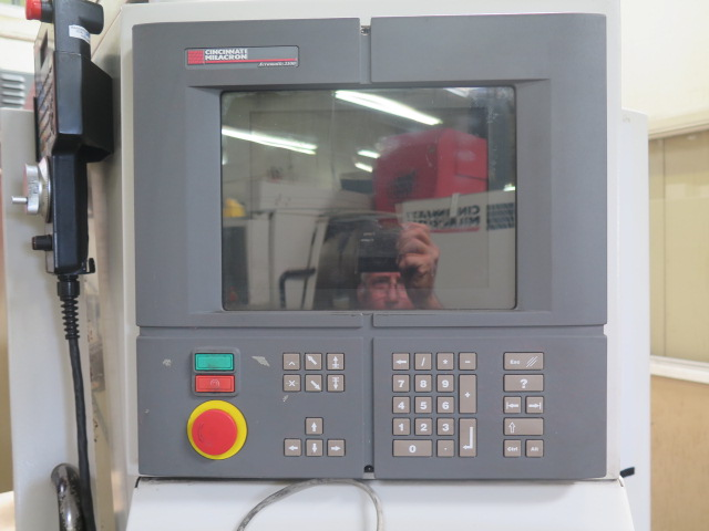 Cincinnati Milacron Arrow 1250C 4-Axis CNC Vertical Machining Center s/n 7064-AOO-98-0006 w/ - Image 5 of 20