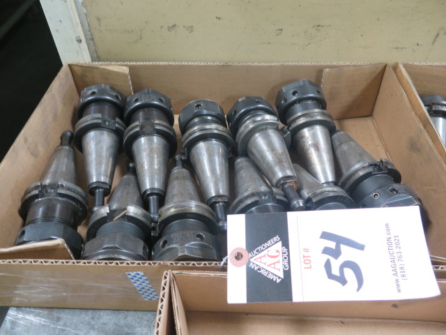 CAT-40 Taper Collet Chucks (11)