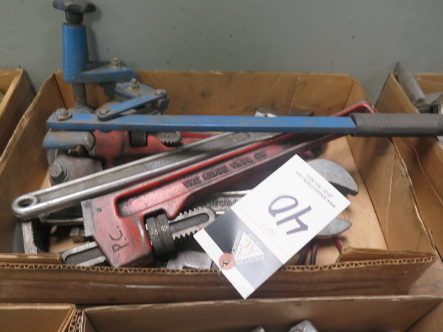 Pipe Wrenches and Barrel Opener