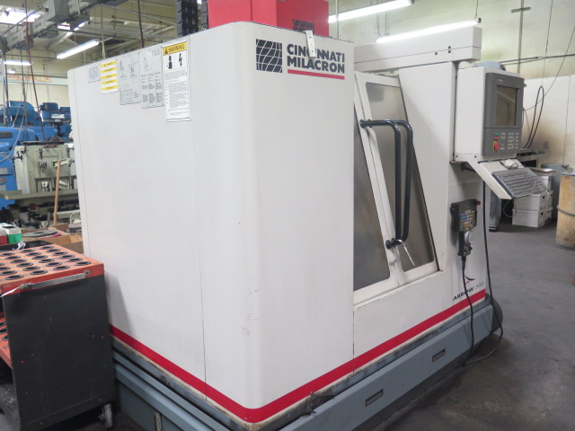 Cincinnati Milacron Arrow 500 4-Axis CNC Vertical Machining Center s/n 7042-AOB-98-1717 w/ Acramatic - Image 3 of 14