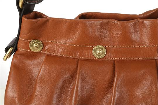 aee9ee1d2b ... greece mulberry mitzy hobo shoulder bag in oak buffalo leather 31cm  wide 11e83 ebccf