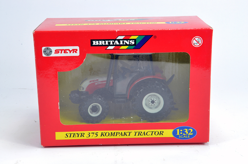 Lot 3 - Britains 1/32 Steyr 375 Tractor. M in Box.