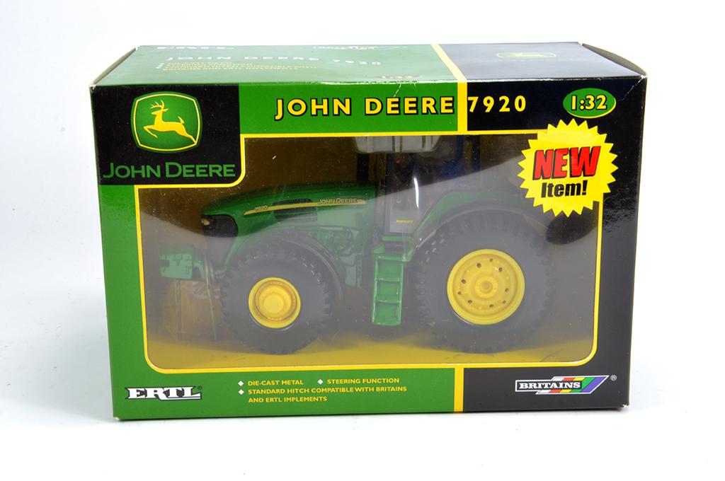 Lot 6 - Britains 1/32 John Deere 7920 Tractor. M in Box.