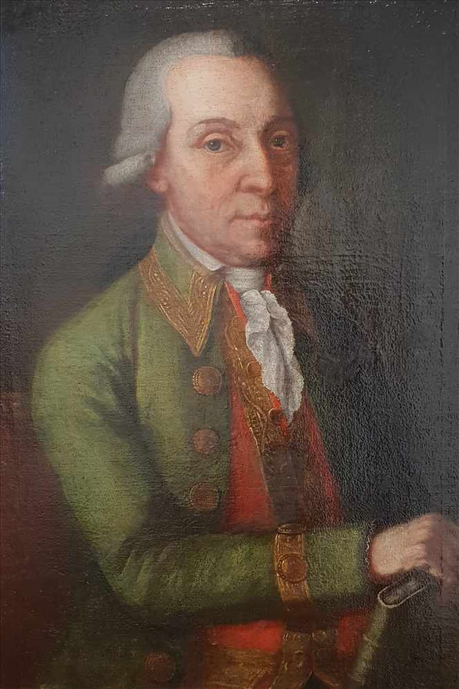 Johann Baptist Durach (* 24. Dezember 1724 - † 7. Februar 1793 in Passau),Porträt von Giuseppe - Bild 2 aus 3