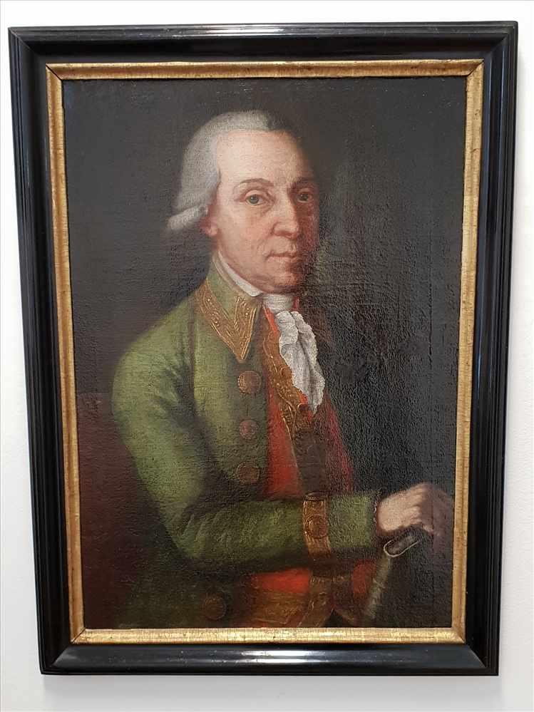 Johann Baptist Durach (* 24. Dezember 1724 - † 7. Februar 1793 in Passau),Porträt von Giuseppe