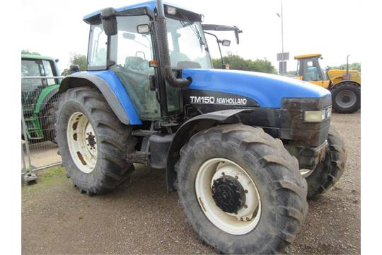 2002 New Holland TM150 Tractor