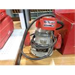 MILWAUKEE HD ROUTER; 23,000 RPM, S/N 27186