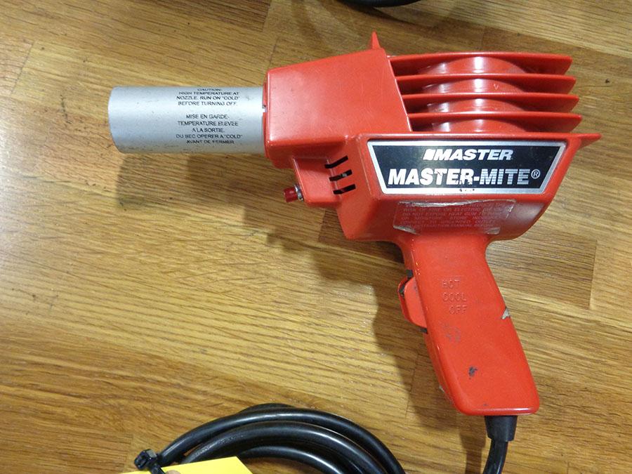MASTER-MITE HEAT GUN; MODEL 10008
