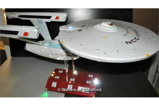 Star Trek U S S Enterprise A Model With Custom Lighting Kit