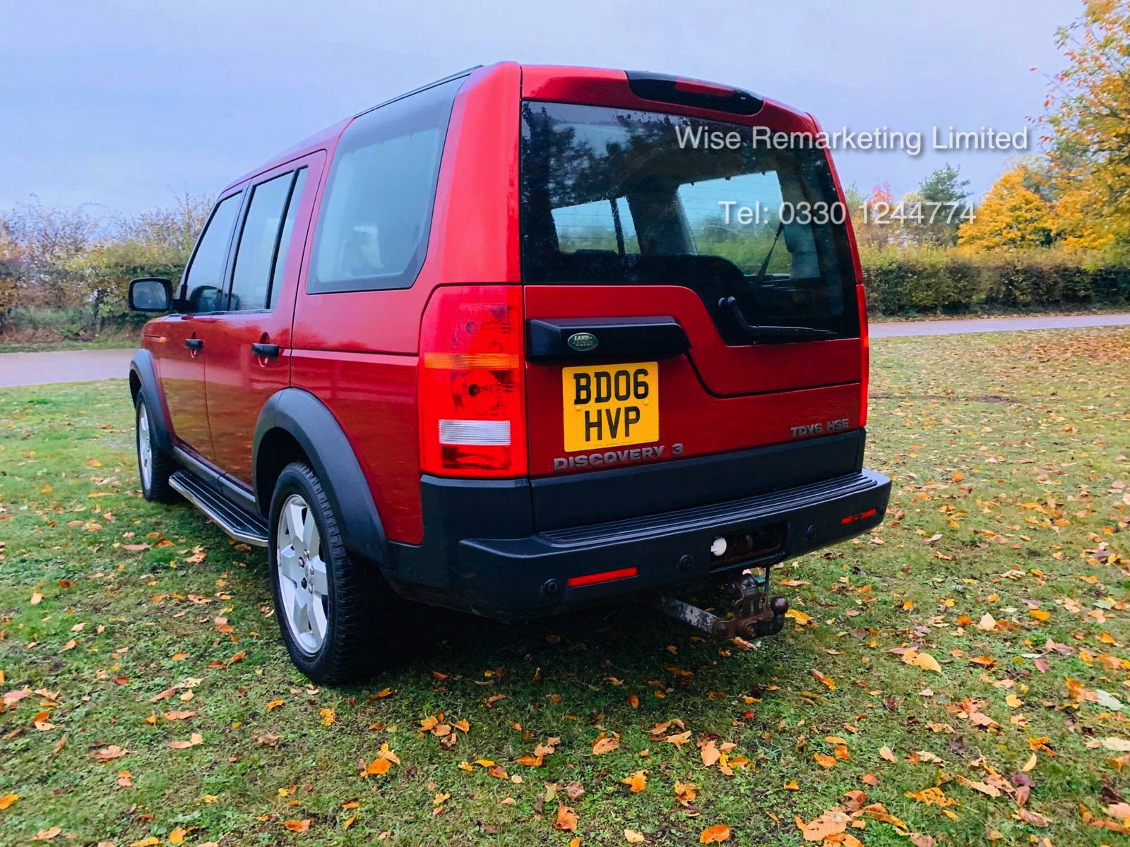 Lot 17 - Land Rover Discovery 2.7 TDV6 HSE Auto - 2006 06 Reg - Service History - TOP SPEC - Full Leather