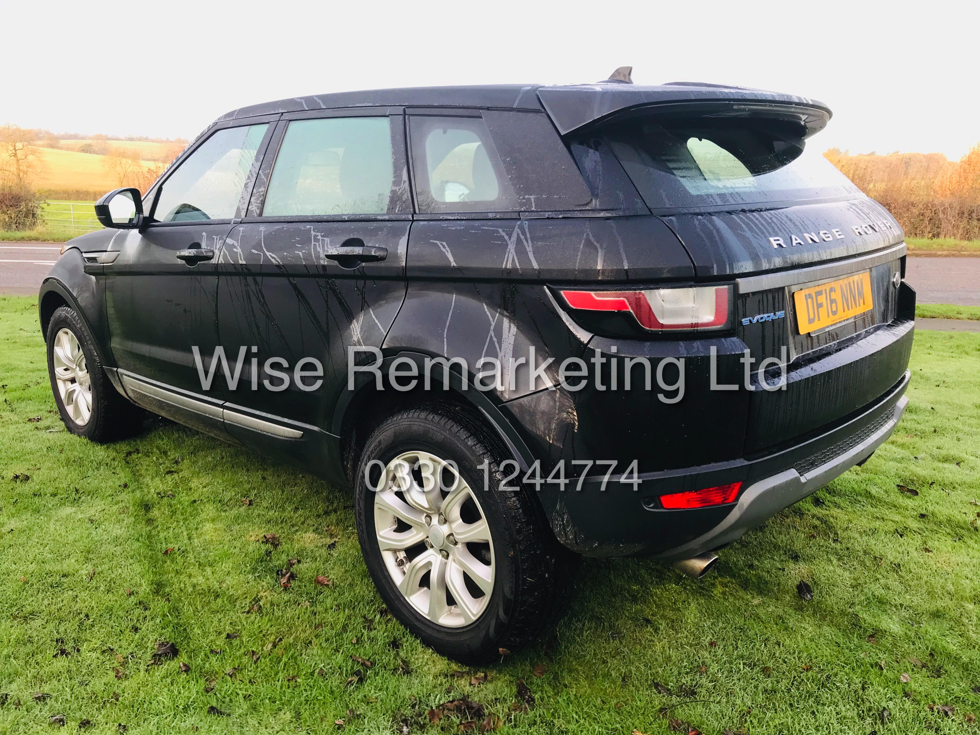 "Lot 1 - **RESERVE MET** Range Rover Evoque 2.0ED4 ""SE black / Special Equipment"" 1 Owner - 16 reg -"