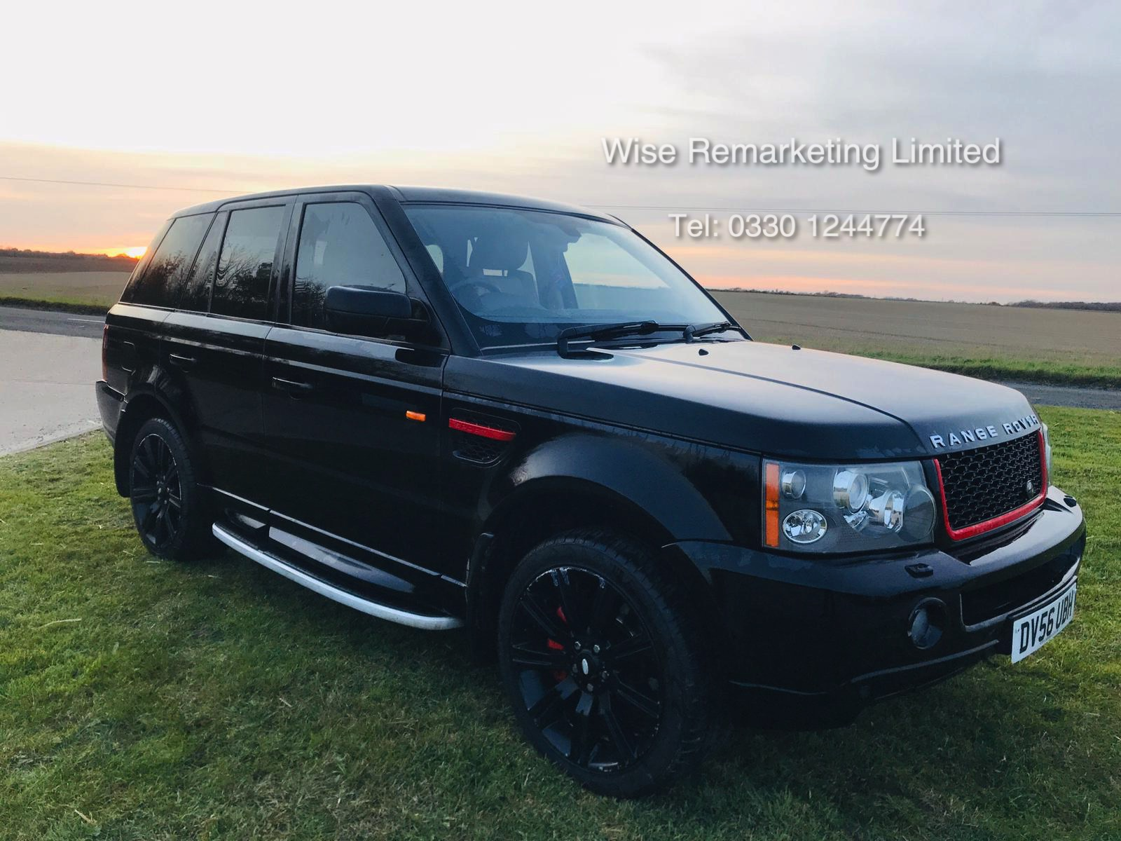 Lot 8a - (Reserve Met) Range Rover Sport 2.7 TDV6 HSE Auto - 2007 Model - Full Leather - TV Screens - Sat Nav